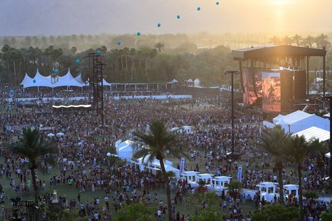 General Views of Coachella 2017