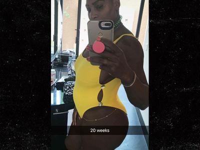 Serena Williams Says She's 20 Weeks Pregnant! (PHOTO)