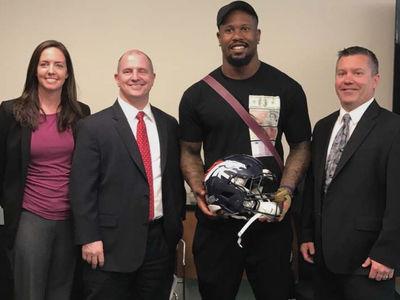 Von Miller Gets Stolen Super Bowl Helmet Back, Thanks to FBI (PHOTO)