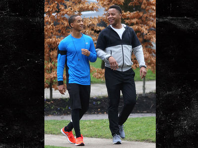Cuba Gooding Jr. Works Through Pain of Dad's Death, Filming with Jaden Smith (PHOTOS)