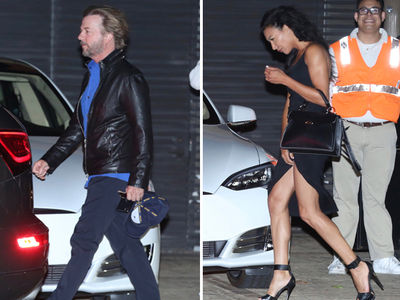 David Spade Gets Naya Rivera Out of the Pool, into a Very Sexy Dress (PHOTOS)