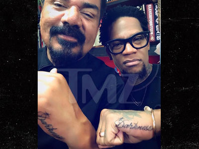 George Lopez and D.L. Hughley Get Charlie Murphy Darkness Tribute Tattoos (PHOTOS + VIDEO)