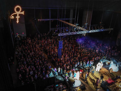 Prince's Death Marked by Morris Day, Fans at Paisley Park (VIDEO + PHOTOS)