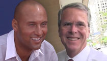 Derek Jeter and Jeb Bush Reportedly Win Auction for Miami Marlins