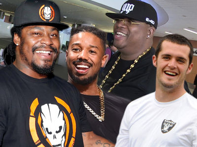 Marshawn Lynch Hosting Block Party In Oakland to Celebrate Raiders Deal