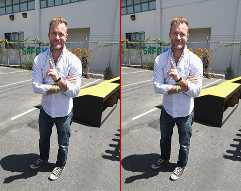 Can you spot the THREE differences in the Scott Caan photos?