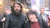 Dave Grohl Accompanies Mom on Book Tour (VIDEO)