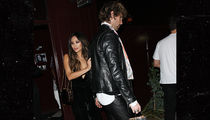 Shay Mitchell Leaves Jessica Alba's Birthday Party with Mystery Man in Leather (PHOTO)