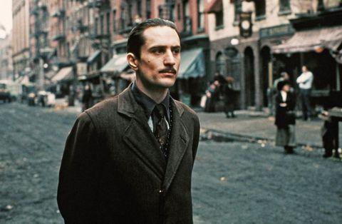 Robert De Niro in The Godfather