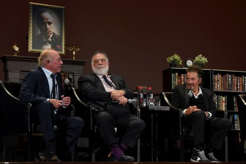 James Caan, Francis Ford Coppola and Al Pacino