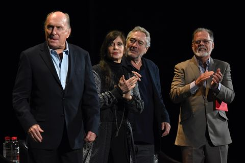 Robert Duvall, Talia Shire, Robert DeNiro and Taylor Hackford