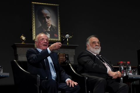 James Caan and Francis Ford Coppola