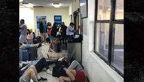 Fyre Festival Stranded Guests Locked and Chain-Linked in Airport, Lawyer Claims (PHOTOS)