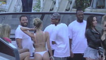 Tyga Parties with Bikini-Clad Blonde in Miami (VIDEO)