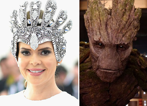 Carly Steel and Groot