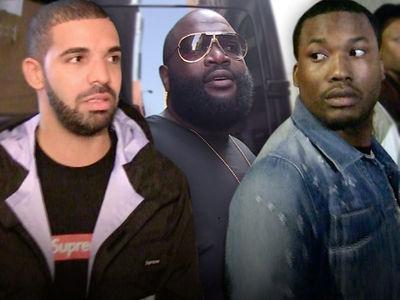Drake & Meek Mill Still Beefing Hard After Rick Ross Tried to Squash It