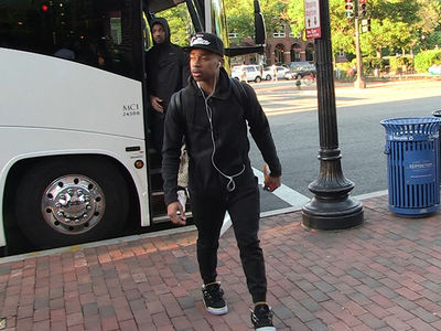Isaiah Thomas Arrives in D.C. ... Limping or Swag? (VIDEO)