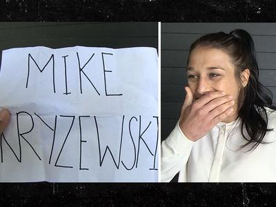 Joanna Jedrzejczyk On Mike Krzyzewski Is Azkwsome! (VIDEO)
