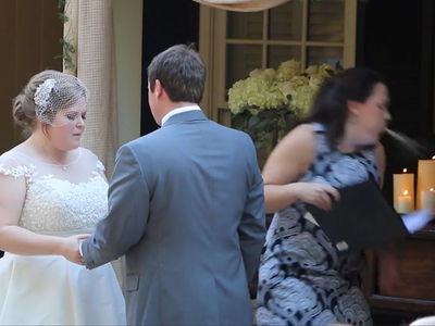 Minister Pukes in the Middle of Couple Saying Their Vows!!! (VIDEO)