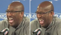 Warriors Coach Mike Brown Laughs Hysterically At Lonzo Ball's $500 Shoe (VIDEO)