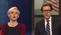 SNL Nails Joe Scarborough and Mika Brzezinski's Engagement on 'Morning Joe' Cold Open (VIDEO)
