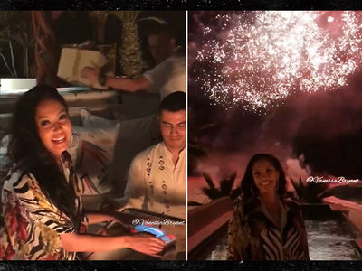 Kobe Bryant Balls Out In Mexico for Vanessa's 35th