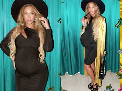 Pregnant Beyonce's Already Showing Off The Twins (PHOTO GALLERY)