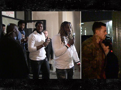 Matt Barnes Hits Clubs with DeAndre Jordan During Warriors Playoff Lull