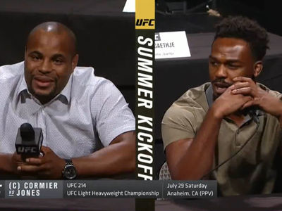 Jon Jones to Cormier: 'I Beat You After a Weekend of Cocaine' (VIDEO)