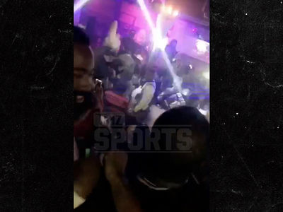 James Harden Parties After Rockets Playoff Blowout Loss, Fans Chant 'MVP' (VIDEO)