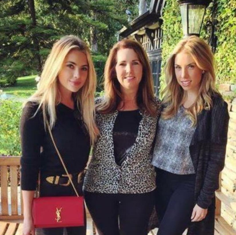 Ashley Benson posted this pic with her mom and sibling.