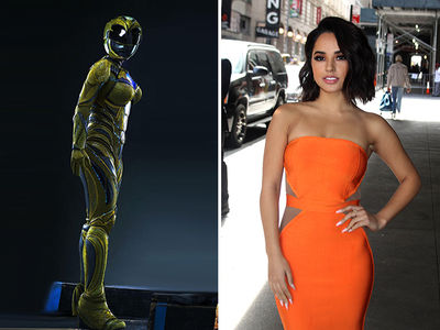 7a02b8161049c ... Becky G Would Make a Badass Orange Power Ranger, Too! (PHOTOS)