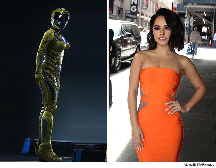 Becky G Would Make a Badass Orange Power Ranger, Too!