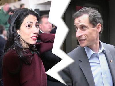 Huma Abedin Files to Divorce Anthony Weiner