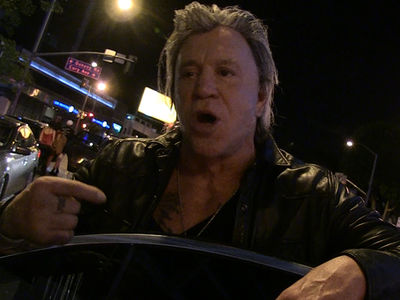 Mickey Rourke Says Talk S*** On Tupac to My Face and See What Happens (VIDEO)