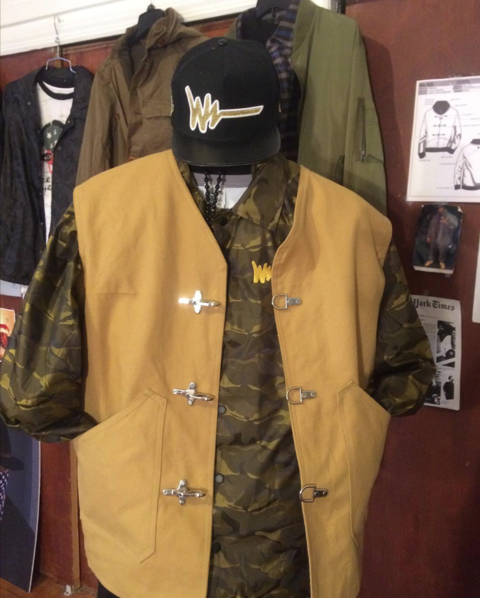 Walker Wear recreated their original hook vest he worn in Above The Rim from the same patterns.