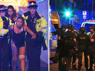 Ariana Grande Concert Nail Bomb Treated as Terrorism With 19 Dead (PHOTO GALLERY + VIDEO) (UPDATE)