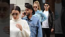 Kim Kardashian and Kanye West All Smiles On Disney Rides (PHOTO GALLERY + VIDEO)