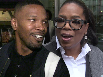 Jamie Foxx Says Oprah Saved Him from Alcohol (VIDEO)