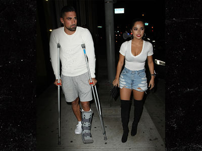 Becky G's Smokin' Hot Date Night with Injured L.A. Galaxy Star (VIDEO+PHOTO)