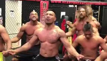 Jason Momoa Performs Haka Dance for UFC Fighter Mark Hunt (VIDEO)