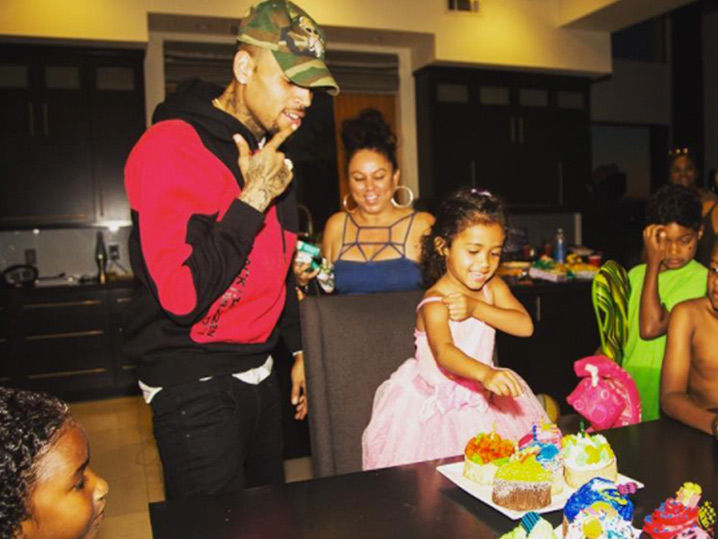 Chris Brown Throws Best 3rd Birthday Party For Daughter