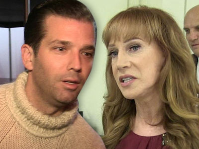 Donald Trump Jr. Calls Kathy Griffin's Decapitation Photo 'Disgusting' But 'Not Surprising' (UPDATE)