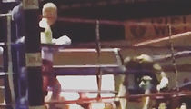 Boxer Debuts with Soul Crushing KO, Blasts Opponent Outta the Ring! (VIDEO)