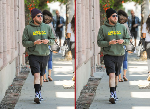 Can you spot the THREE differences in the Jonah Hill photos?