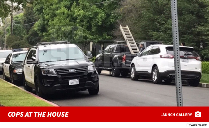 6d6953b37 We re told LeBron was not at the home at the time of the incident -- he s  presumably in the Bay Area gearing up for Game 1 of the NBA Finals