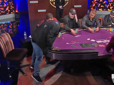 Kevin Hart Humps Poker Table After After Big Win (VIDEO)