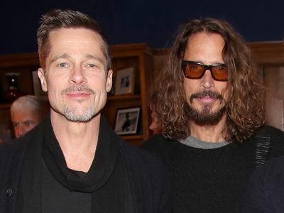 Brad Pitt Treats Chris Cornell's Kids To A Bit of Magic At Universal Studios (PHOTOS)