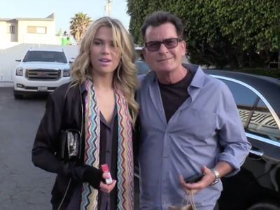 Charlie Sheen Jumps on Nanny Train with New Girlfriend