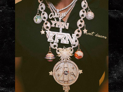 Migos' Takeoff Designs Chain That's Literally Out Of This World (PHOTO + VIDEO)